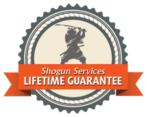 Shogun Services Lifetime Guarantee